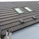 roof completed with velux windows