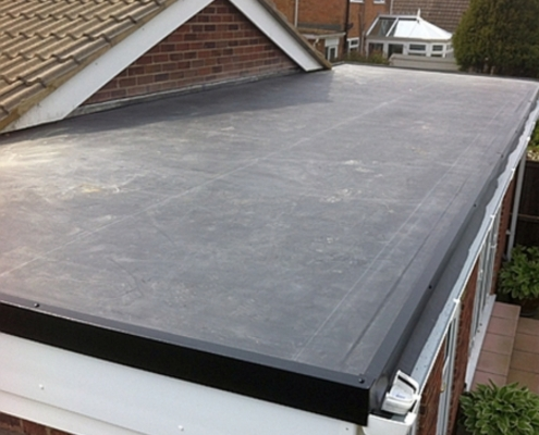 flat roof completed in Northampton EPDM