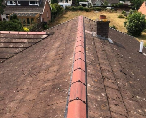 after roof repair in Northampton