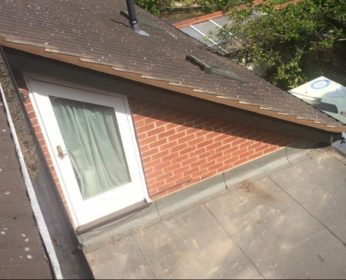 roof tiles embedded in Daventry