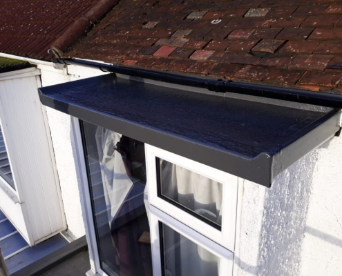 rubber roof installed Northampton