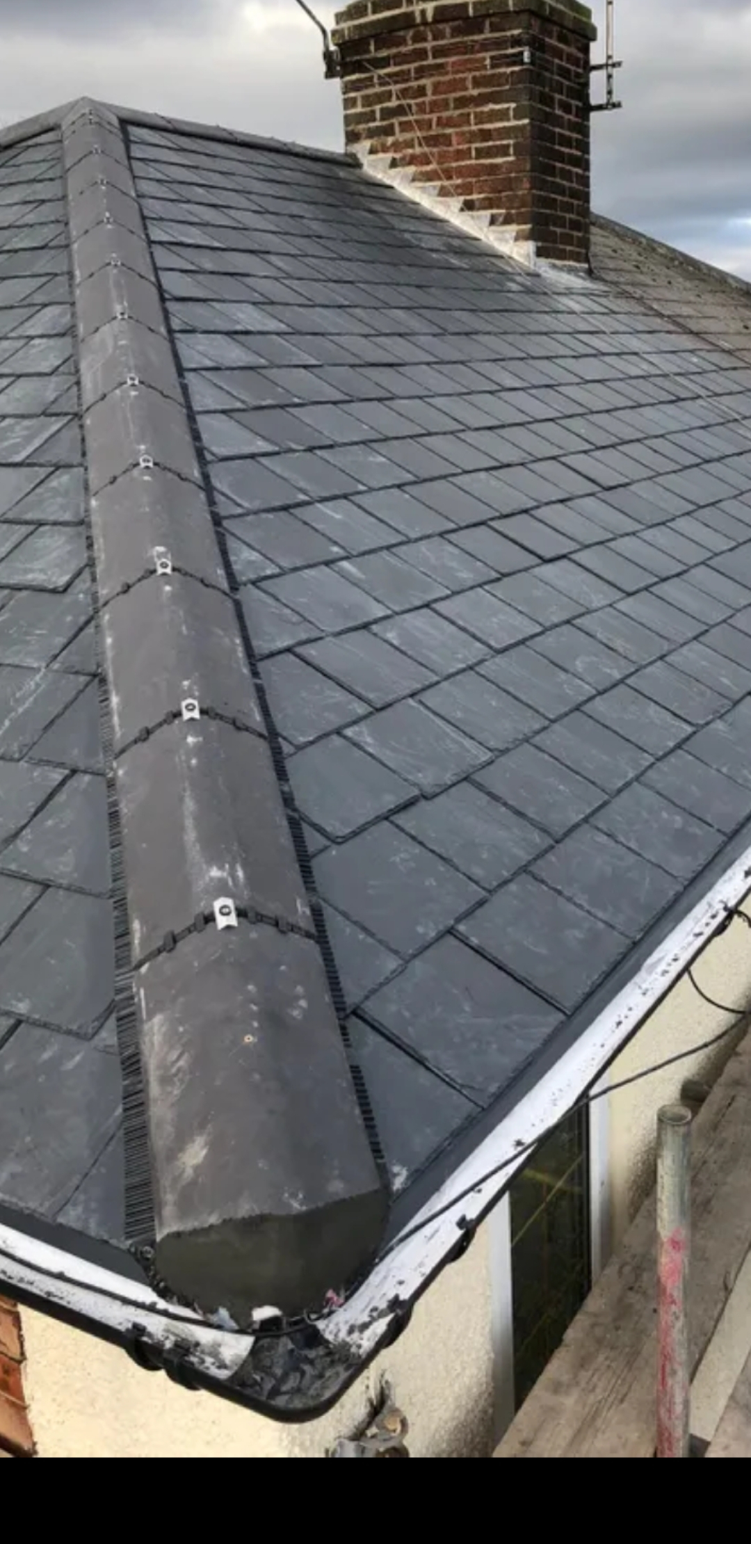 grey slate roof installation Northampton