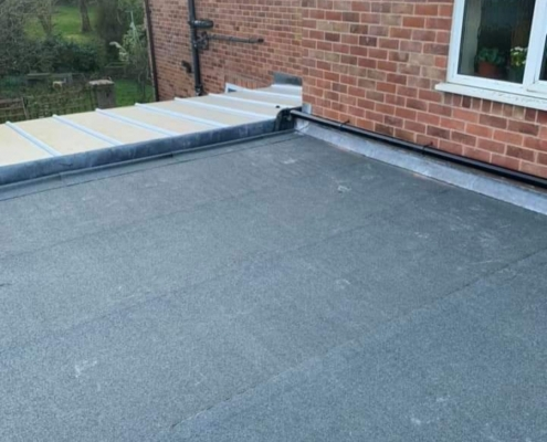 flat roof home extension