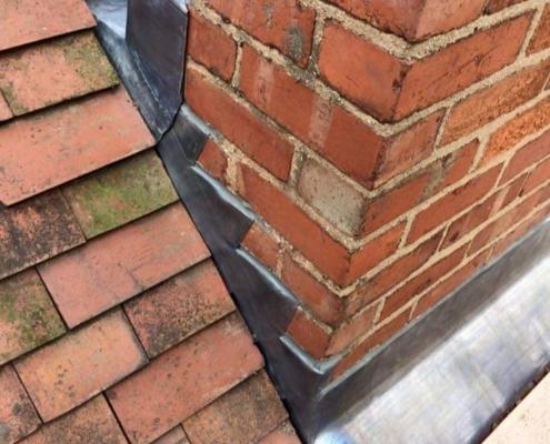 chimney repaired in Kettering