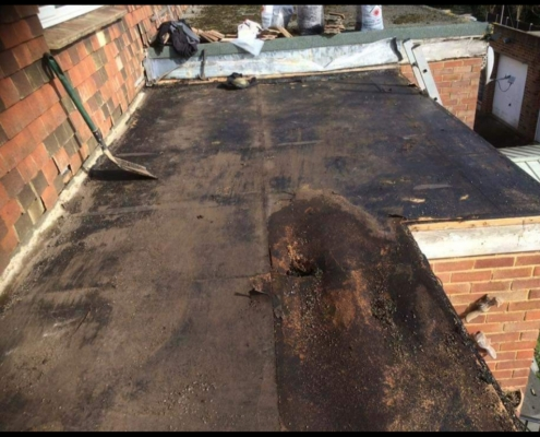 fitting flat roof Corby