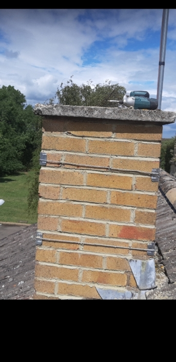 repointing chimney