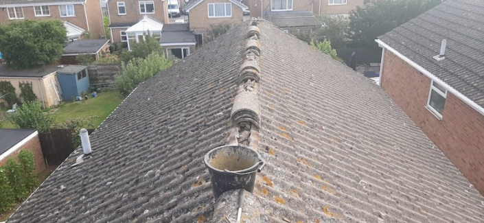 Roof repair in Wellingborough