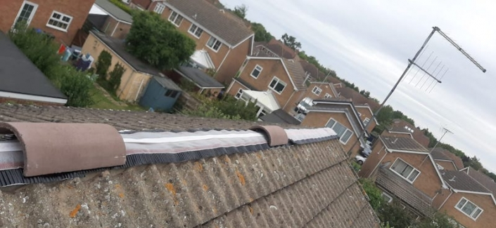 roof leak fixed Wellingborough